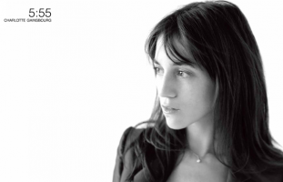 Charlotte Gainsbourg - Site artiste, sortie de l'album 5:55 - web developpeur lamp