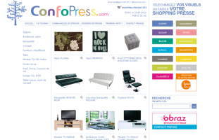 Conforama - Extranet produits presse - developpeur site internet freelance