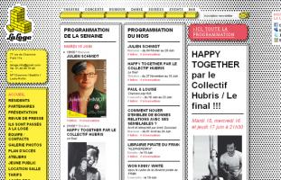 La Loge - Lieu de spectacle, théâtre - programmeur web php