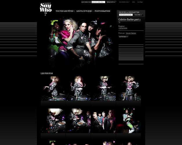 Homepage say who?