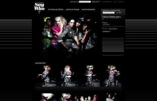 Say Who? - Albums photos / fêtes - web developpeur php mysql