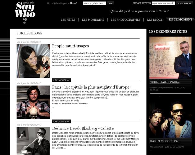 Les blogs