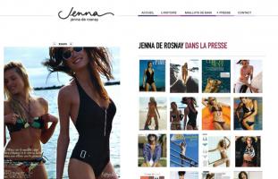 Jenna de Rosnay - Vente en ligne de maillots de bain - web developpeur lamp