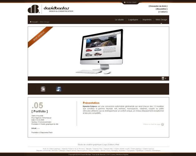 Page référence web design