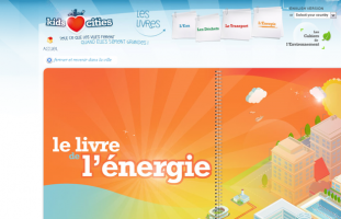 Veolia - Kids Love Cities - developpement site internet web freelance