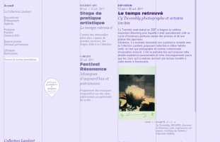 Collection Lambert en Avignon - Musée d'Art Contemporain - web developpement freelance
