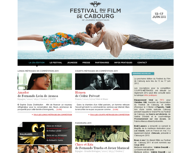 Homepage, édition 2012