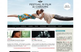 Festival du Film de Cabourg - Journées romantiques - developpeur site internet